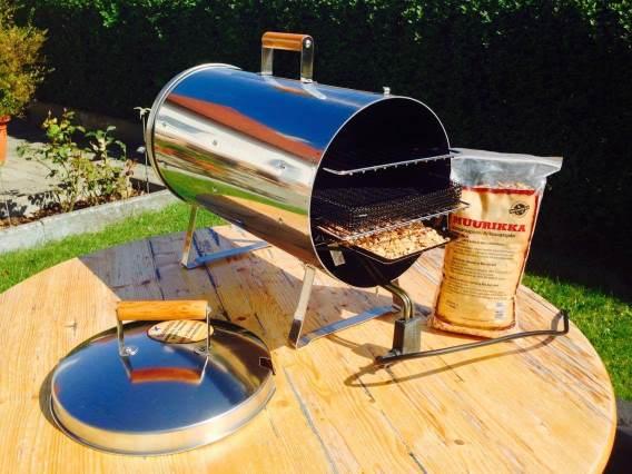 Tischräucherofen - ideal zum Campen oder Angeln
